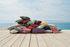 Envie d'ailleurs - Cacahuètes Outdoor cushion - / 44 x 30 cm by Fermob