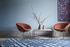 Pot Padded armchair - / FH 6001 fabric by Fritz Hansen