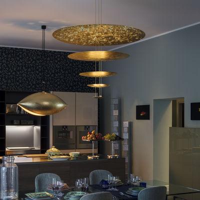 Pendelleuchte Macchina della Luce D von Catellani & Smith - Gold ...
