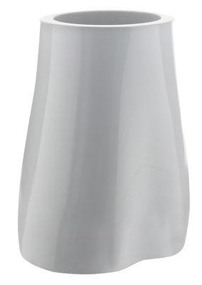 Pot de fleurs Missed tree III / H 57 cm - Version laquée - Serralunga blanc en matière plastique