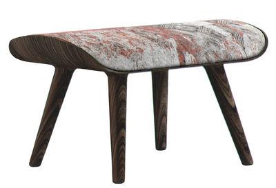 Furniture - Poufs & Floor Cushions - Nut Pouf by Moooi - Black, White, Red - Feets : Cinnamon - Fabric, Foam, Oak plywood, Solid oak