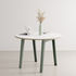 New Modern Round table - / Ø 110 cm - Laminate / 4 to 6 people by TIPTOE