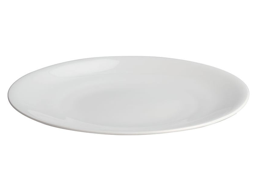 Tableware - Serving Plates - All-time Serving dish - Ø 32 cm by A di Alessi - White - Serving dish - Bone china