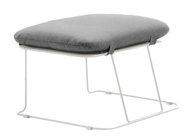 Merano Outdoor Sitzkissen / outdoorgeeignet - Stoff - B-LINE - Weiß,Grau