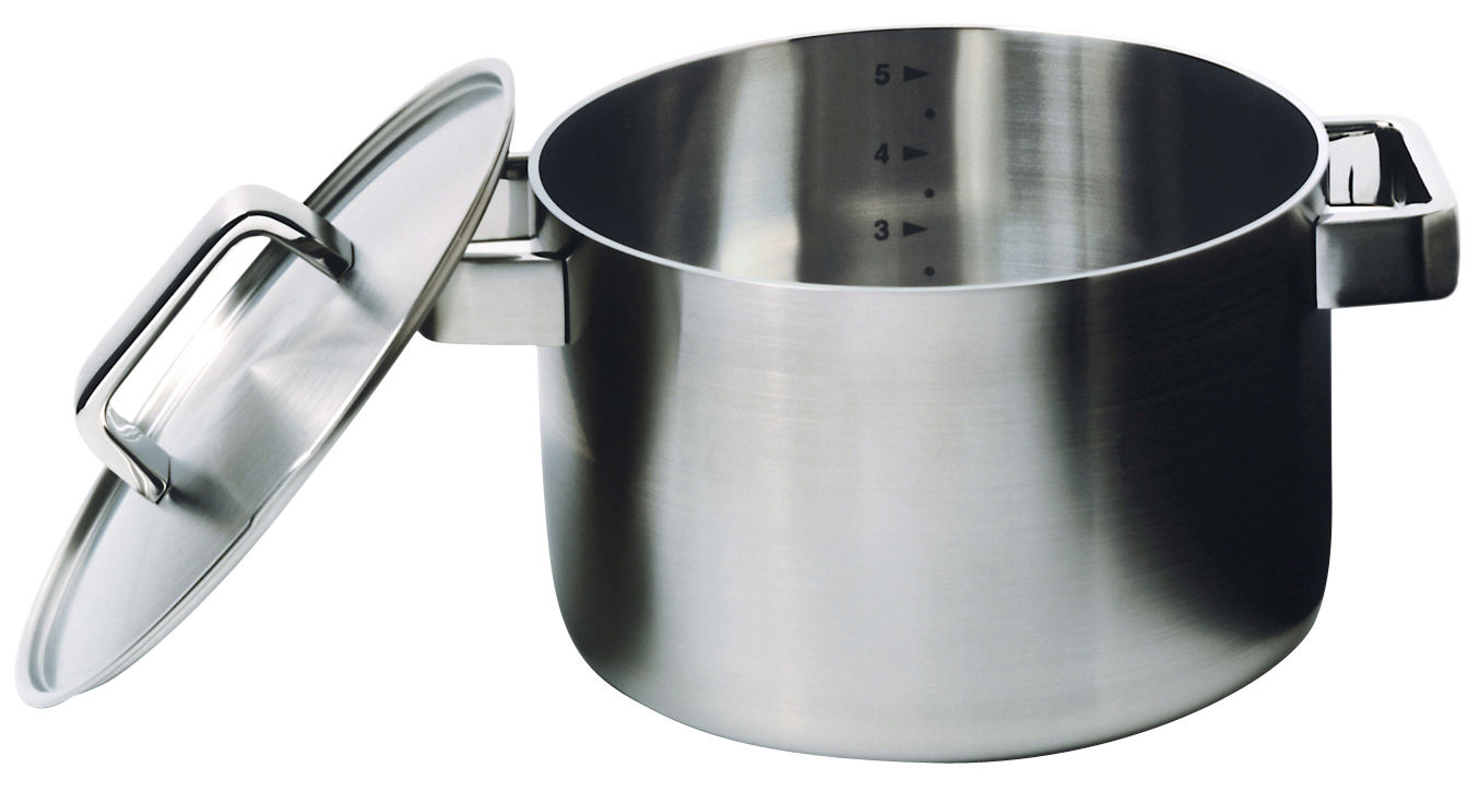 Kitchenware - Pots & Pans - Tools Stew pot - Casserole by Iittala - Stainless steel - Stainless steel