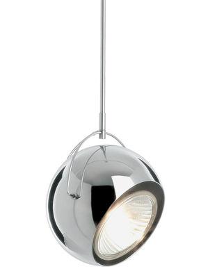 Suspension Beluga version métal - Ø 14 cm - Fabbian chromé en métal