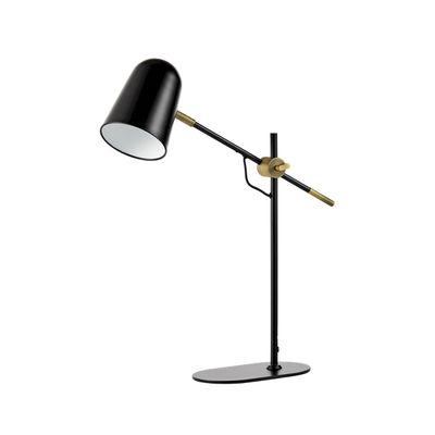 Lighting - Table Lamps - Bureau Table lamp - / Orientable by Bolia - Black / Brass - Metal