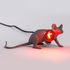 Mouse Lie Down #3 Table lamp - / Reclining mouse by Seletti