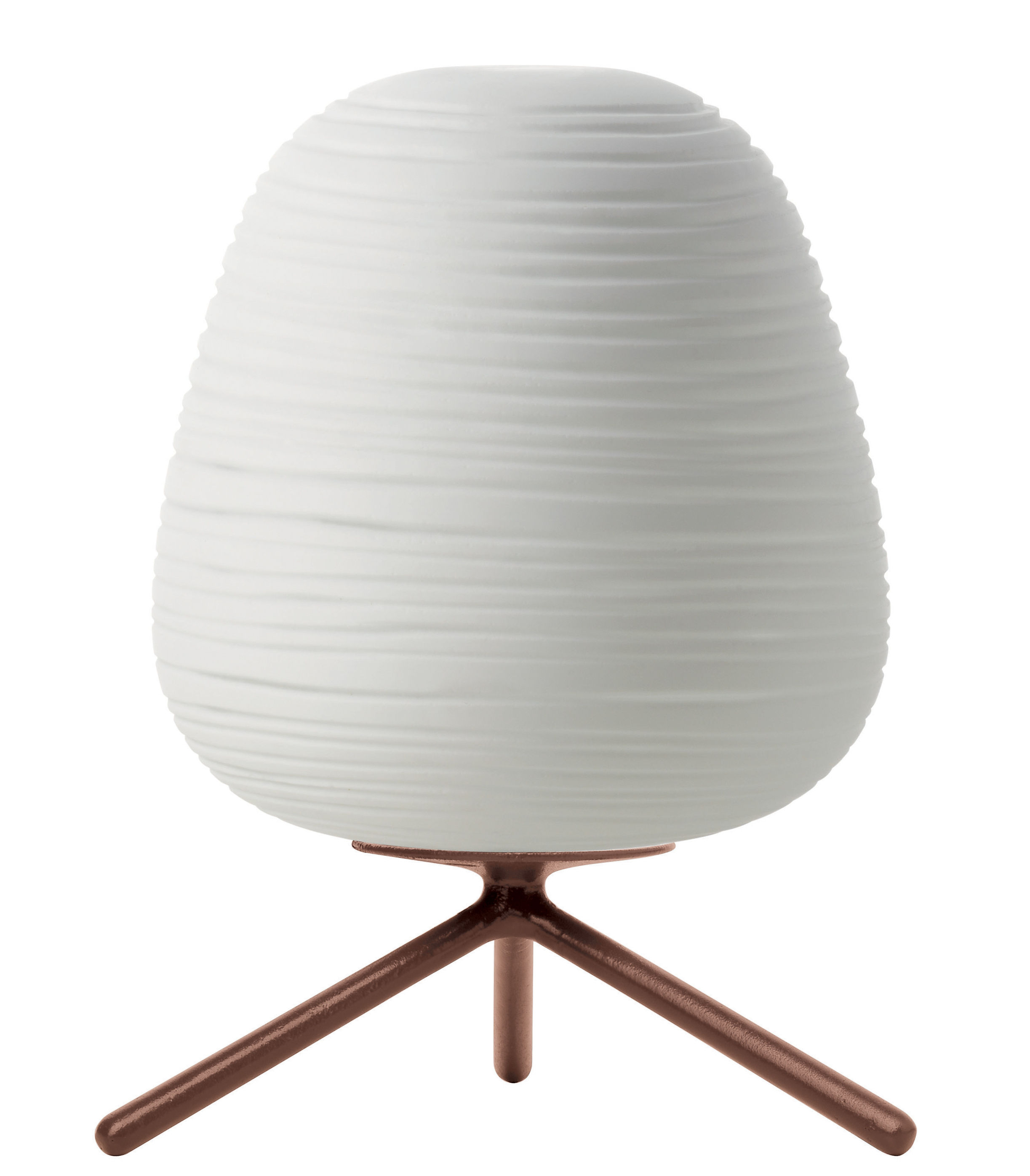 Lighting - Table Lamps - Rituals 3 Table lamp by Foscarini - White / Dimmer - Mouth blown glass