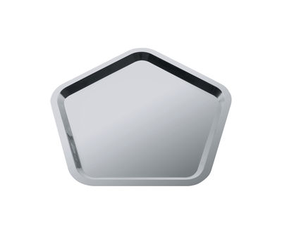Tableware - Trays - Territoire intime Tray by Alessi - Polished steel - Stainless steel 18/10