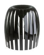 Abat-jour Josephine XL / Ø 50 x H 47,5 cm - Koziol noir opaque en matière plastique