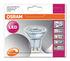 Ampoule LED GU10 Spot / PAR16 36° - 5,5W=50W (2700K, blanc chaud) - Dimmable - Osram