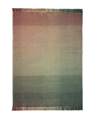 Dekoration - Teppiche - Shade palette 3 Außenteppich / 170 x 240 cm - Nanimarquina - Grün & Rosa - Polyäthylen