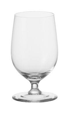 Tavola - Bicchieri  - Bicchiere da acqua Ciao+ di Leonardo - Trasparente - Vetro