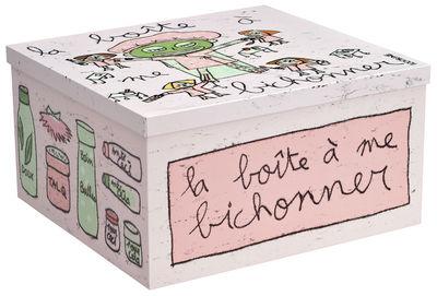Déco - Salle de bains - Boîte à me bichonner - 100drine pour Sentou Edition - Graphisme 100drine - Fer laqué