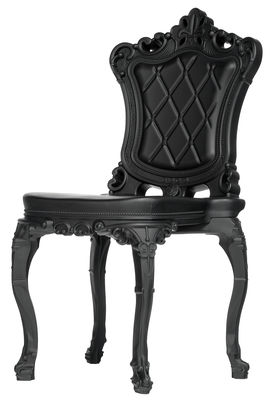 Furniture - Chairs - Princess of Love Chair - Polyethylene by Design of Love by Slide - Black - roto-moulded polyhene