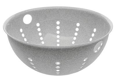 Kitchenware - Kitchen Equipment - Palsby Colander - / Ø 21 cm by Koziol - Organic grey - Organic plastic