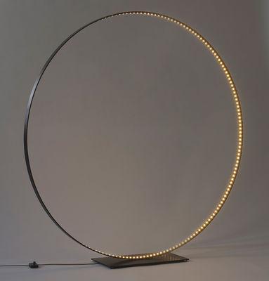 Lampe de table Mega / LED - Ø 123 cm - Le Deun noir en métal