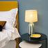 Lampe de table Palmaria Small / H 48 cm - Céramique & rabane - Maison Sarah Lavoine
