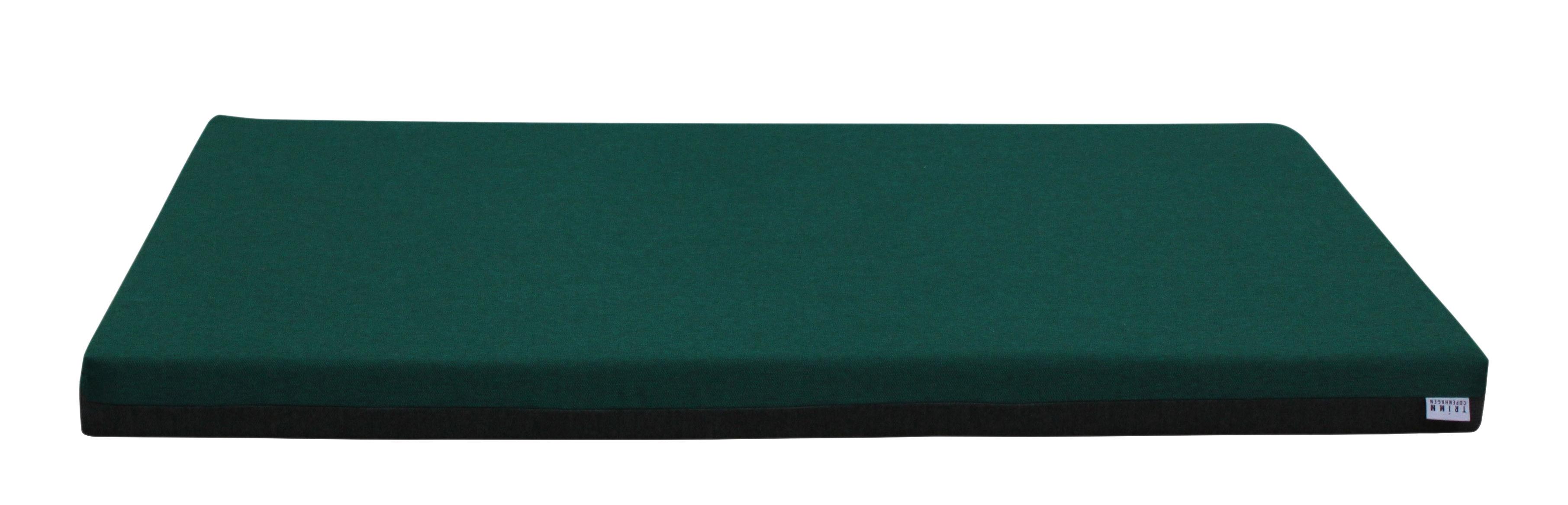 Mobilier - Compléments d'ameublement - Matelas Connect / Big - Avec aimants - Trimm Copenhagen - Vert foncé / Gris - Mousse, Tissu Acrisol Twitell