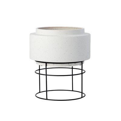 Pot de fleurs Botanique / Ø 34,8 x H 40,5 cm - Céramique - Bolia gris en céramique