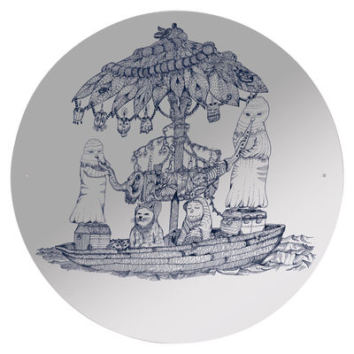Möbel - Spiegel - Opulant boat Selbstklebende Spiegel selbstklebend - Domestic - Motiv