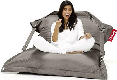 Möbel - Sitzkissen - Buggle-up Sitzkissen für den Außeneinsatz - Fatboy - Taupe - Polyesterfaser