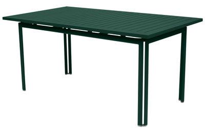 Table Costa / 160 x 80 cm - Fermob cèdre en métal