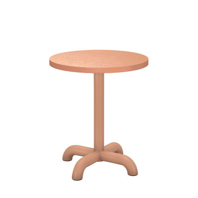 Table d'appoint Unify / Ø 40 cm - Chêne - Petite Friture rose en bois