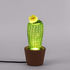 Cactus Sunrise Small Table lamp - / Cement & glass - H 30 cm by Seletti
