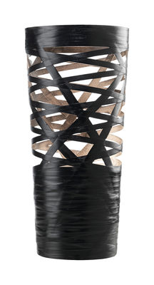 Lighting - Table Lamps - Tress Mini Table lamp - H 43 cm by Foscarini - Black - Composite material, Fibreglass