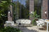 Table rectangulaire Dehors / Effet marbre - 240 x 100 cm - Cinna