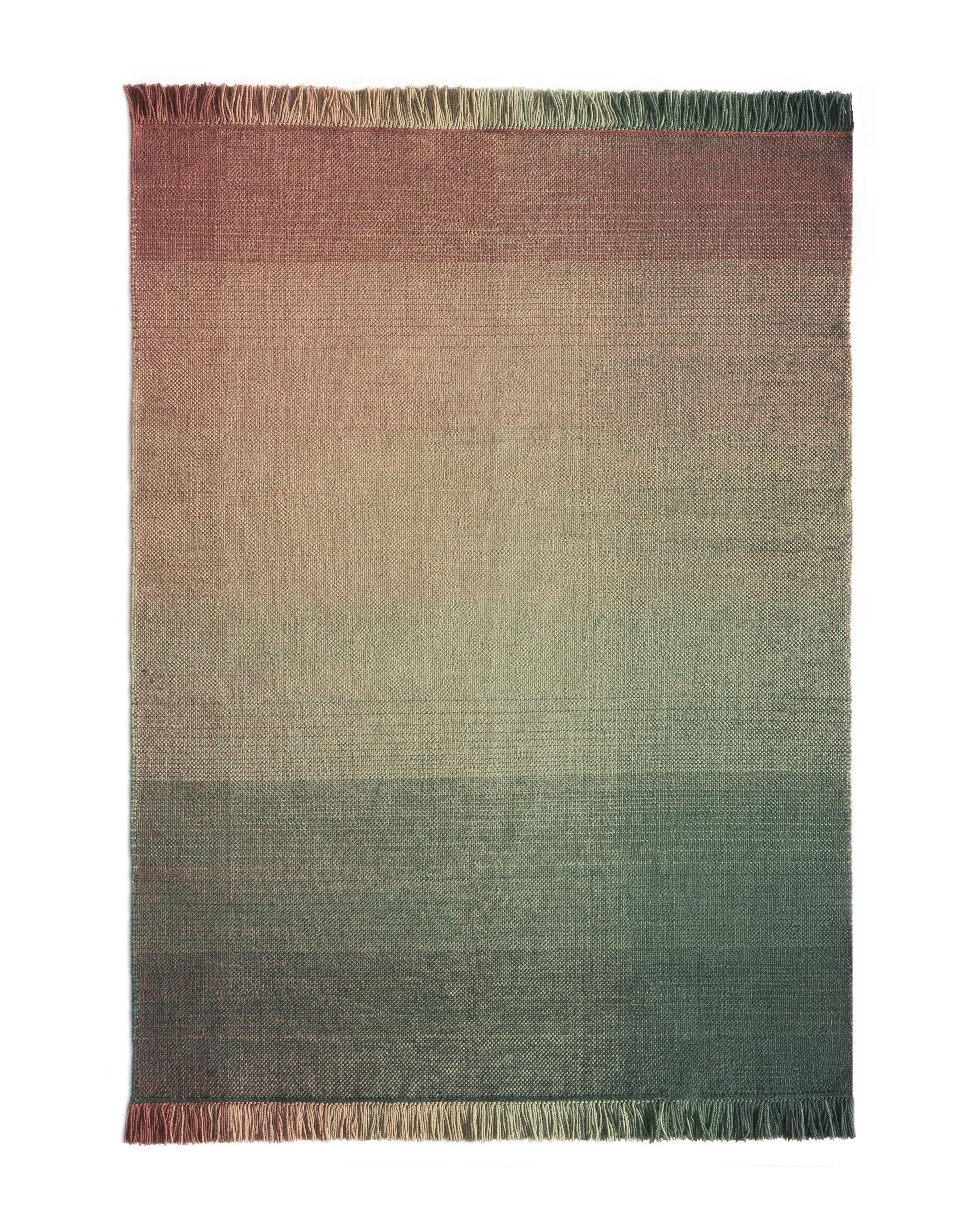Déco - Tapis - Tapis d'extérieur Shade palette 3 / 170 x 240 cm - Nanimarquina - Vert & Rose - Polyéthylène