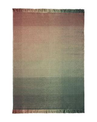 Interni - Tappeti - Tappeto per esterno Shade palette 3 - / 170 x 240 cm di Nanimarquina - Verde & Rosa - Polietilene