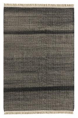 Interni - Tappeti - Tappeto per esterno Tres - / 200 x 300 cm di Nanimarquina - Nero - Polietilene