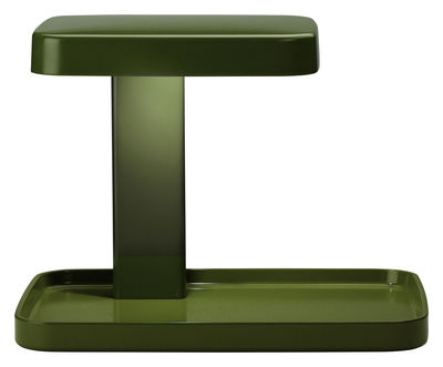 Leuchten - Tischleuchten - Piani Tischleuchte LED / Ablage - Flos - Grün - ABS, PMMA
