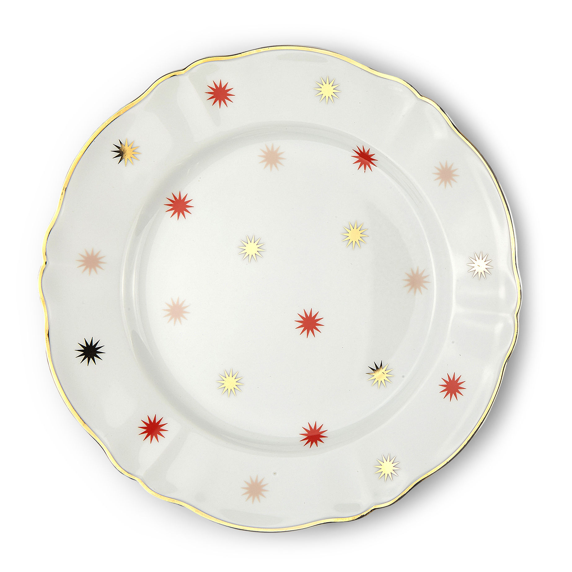 Arts de la table - Assiettes - Assiette Volta / Ø 26,5 cm - Bitossi Home - Etoile - Porcelaine