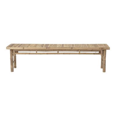 Möbel - Bänke - Sole Bank / Bambou - L 180 cm - Bloomingville - Bambou - Bambus