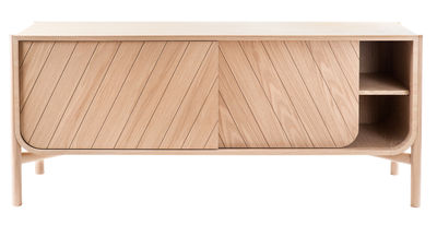 Buffet Marius / Meuble TV - L 185 x H 65 cm - Hartô chêne naturel en bois