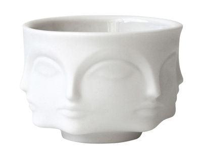Decoration - Candles & Candle Holders - Votive Candle holder - Cup by Jonathan Adler - White - China