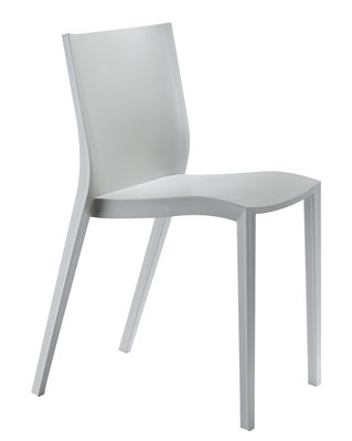 Chaise empilable Slick slick by Philippe Starck Gris - XO | Made In on