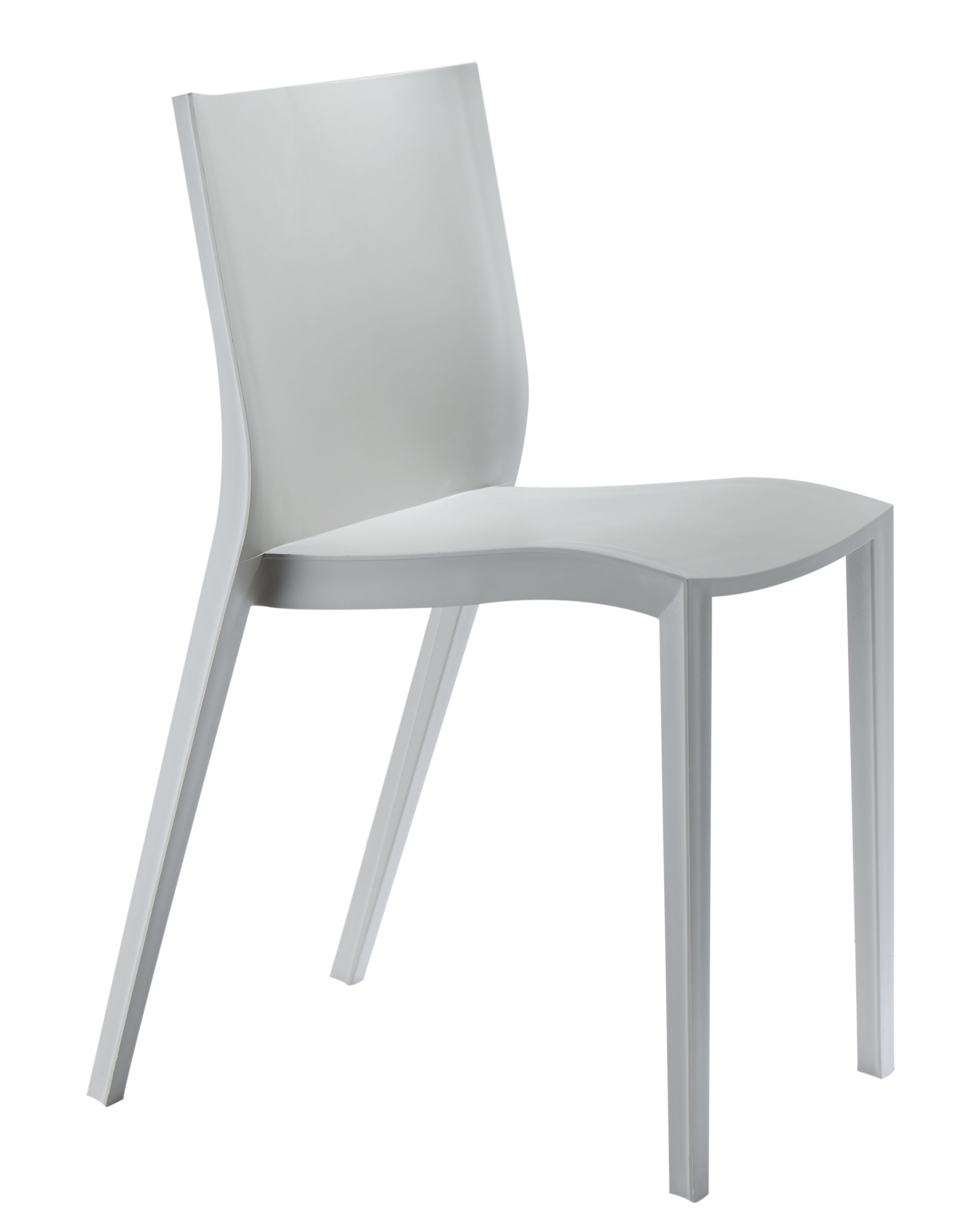 Chaise Empilable Slick By Philippe Starck Gris