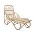 Chaise longue Costa / Rotin - Avec matelas - Bloomingville