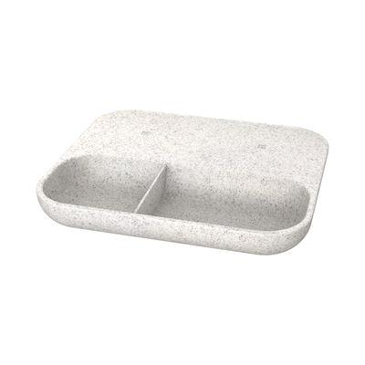 Chargeur à induction wiTRAY CARE / QI - Plateau 21 x 18 cm - Kreafunk gris moucheté en matière plastique