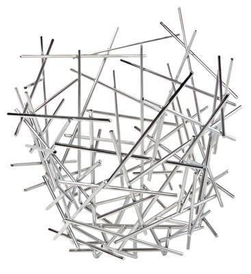 Corbeille Blow up / Ø 35 x H 31 cm - Alessi acier en métal