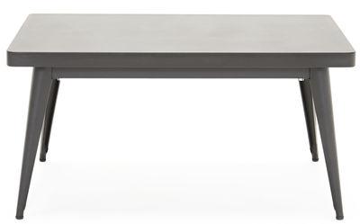 Möbel - Couchtische - 55 Couchtisch / 90 x 55 cm - Tolix - Schwarz - Lackierter recycelter Stahl