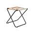 Desert folding stool - / Recycled plastic bottles - Black structure by Ferm Living