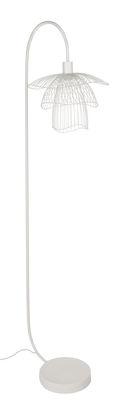 Lampadaire Papillon / H 150 cm - Forestier blanc en métal