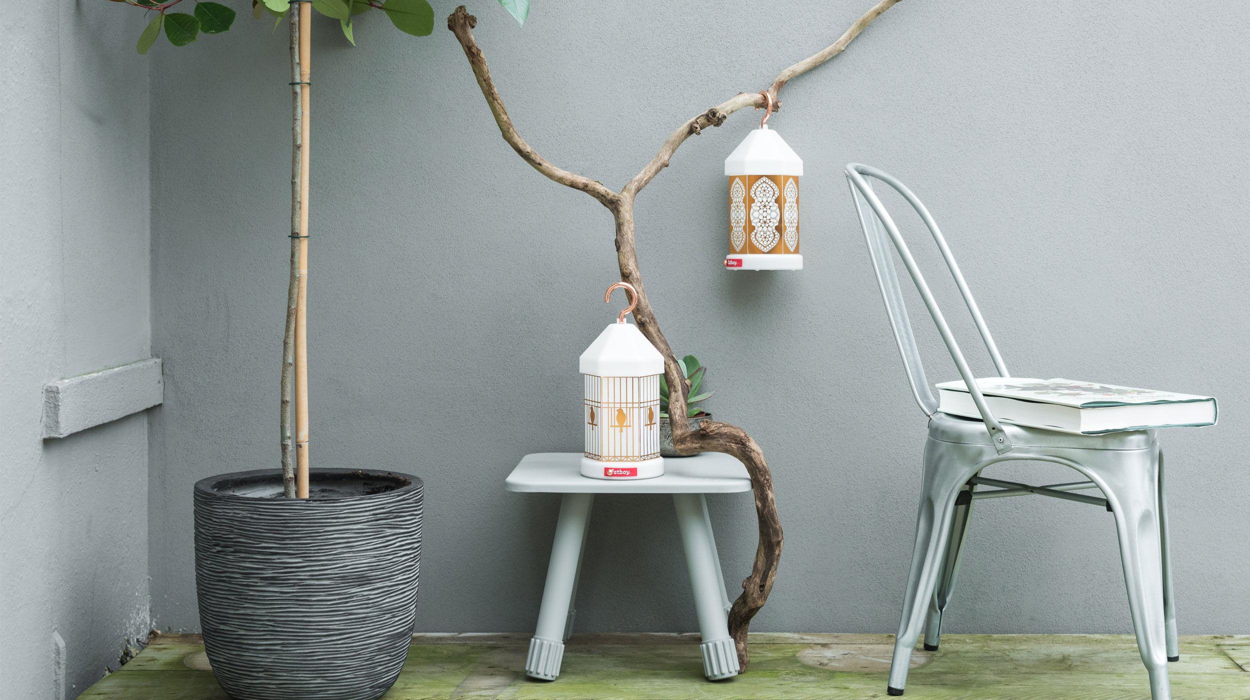Lampe Ohne Kabel Lampie-ON Von Fatboy - Weiß