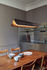 Respiro LED Pendant - / L 90 cm - Aluminium by DCW éditions